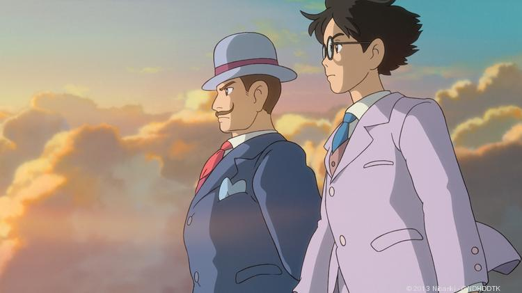 """""""The Wind Rises"""" is impossibly gorgeous, with especially painterly backgrounds."""
