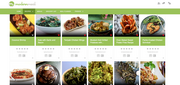 A look at the Modern Meal site, which looks like Pinterest
