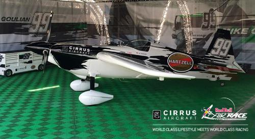 Cirrus is supporting Team Goulian, the Red Bull Air Race Championship team led by air racer and aerobatic pilot Michael Goulian. He'll fly in a Zivko Edge 540.