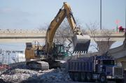 """The DOT, in a February project newsletter, said the bridge """"has proven to be quite stubborn and requires more jackhammering."""""""