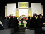 The Philadelphia Flower Show also features talks by gardening and design experts.