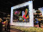 Flower Show blooms with colorful articulture