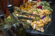 Attendees of the Book of Lists Party enjoyed quite the spread.