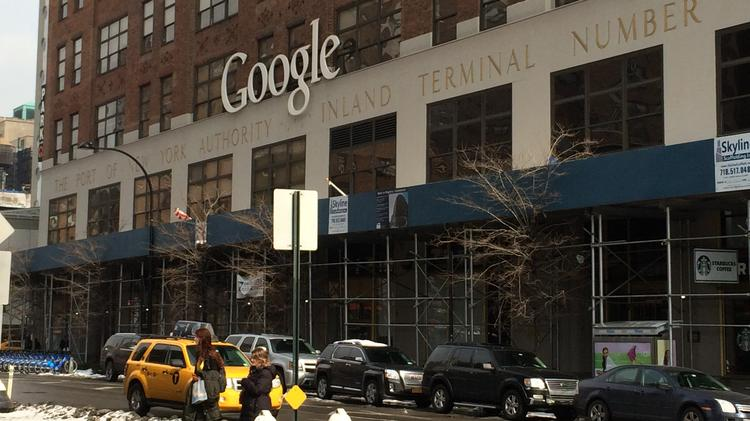 Google New York headquarters, 111 8th Ave., in Chelsea.