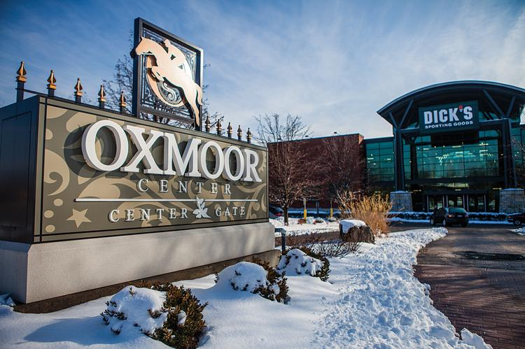 Oxmoor Center will open at noon Monday. Snowfall in the Louisville area led to the delayed opening.