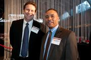 Taylor Corp.'s Brian Burke and Venture Solutions' Tommie Braddock