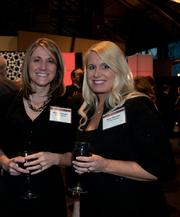 Kelly Clawson (left) and Amy Hansen, both from Polaris