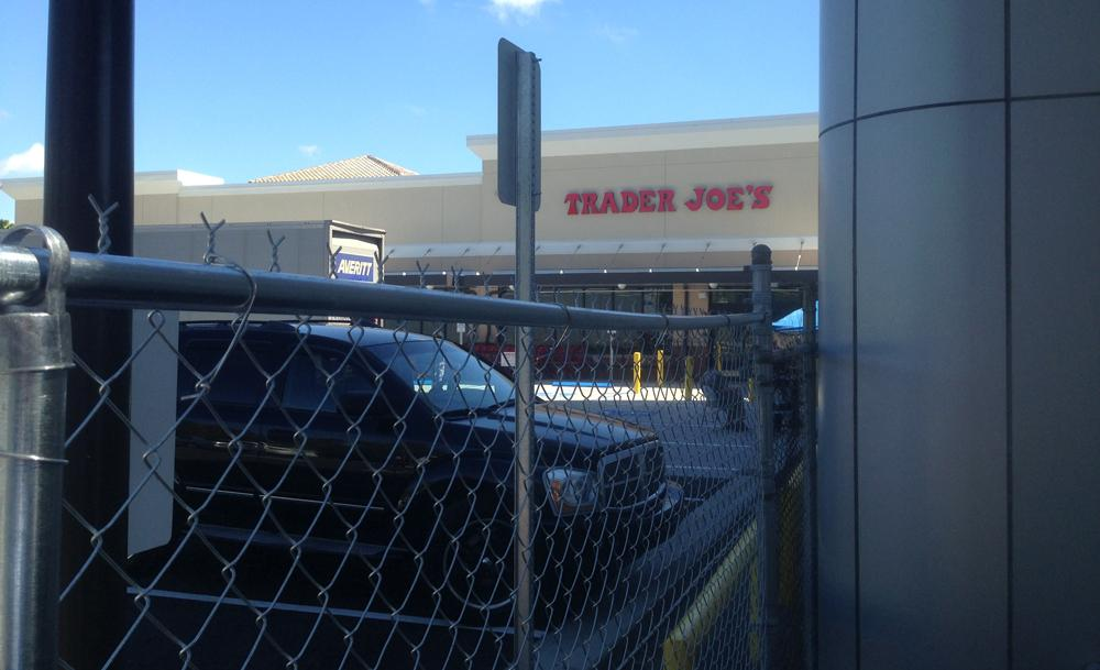 Trader Joe's neighbors will have fences, signage to protect their