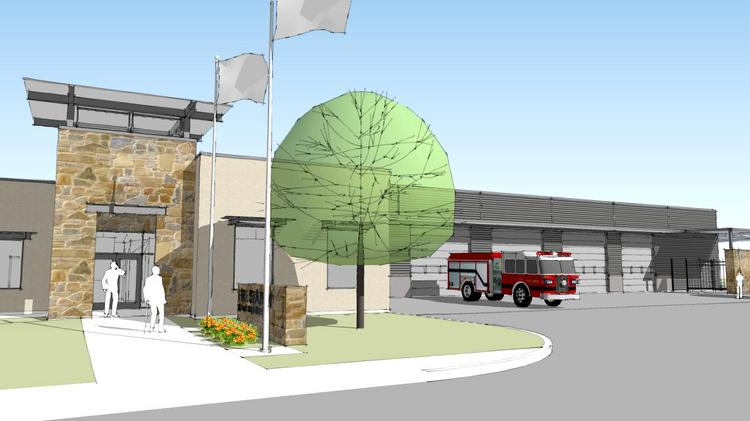 A new fire station is one of several phases for creating new municipal facilities for the city of Leon Valley.