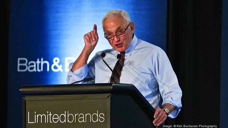 "L Brands CEO Les Wexner, seen in a file photo, told shareholders at the annual meeting that ""We're doing well. We're trying to do better."""