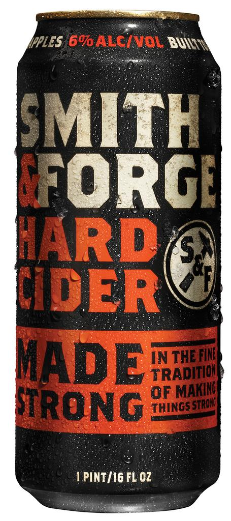 MillerCoors introduced Smith & Forge, a hard cider intended to appeal to males, on March 3.