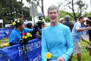 Mimi Beams, executive search consultant for Inkinen & Associates at the Hawaii Pacific Health Women's 10K at Kapiolani Park in Honolulu.