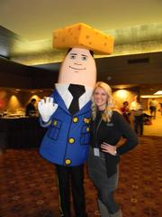 """Otto Pilot, a nod to """"Airplane!,"""" with Megan Kimps of Laughlin Constable."""