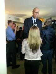 Abdul-Jabbar attracted interest from several media outlets, including Fox Sports.