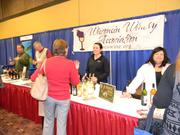 A group of Wisconsin wineries offers tastings at the afternoon marketplace.