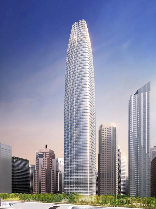 A major selling point for Salesforce was the chance to have its name on the tallest building west of Chicago.