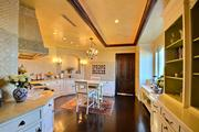 View of the kitchen at 209 N. Birch Road.