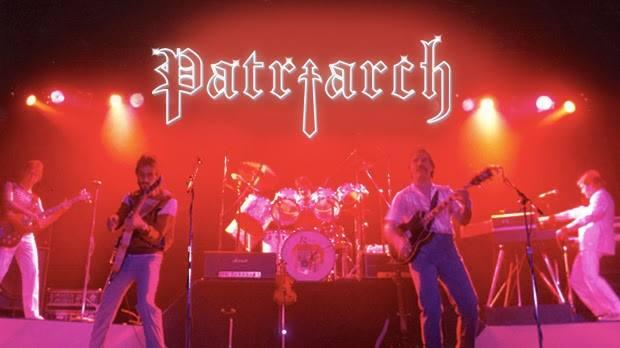 The band Patriarch performs a show during the mid 1980s.