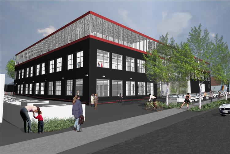 The Greencourt Group is planning to develop a 100,000-square-foot speculative office-and-data center project at 12358 Parklawn Drive in Rockville.