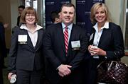 CohnReznick, an event partner of the Boston Business Journal's 2013 Best Green Practices event at the Seaport Hotel, was well represented by Karen Smith, Ron Walker and Kelly Frank.