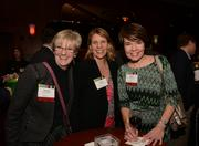 (From left) Joanne Kosciolek with nominee Resource Inc., Lana Weber (Cushman & Wakefield/NorthMarq) and Kelly Matter, also with Resource