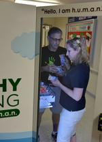Former investment banker becomes healthy vending machine franchisee
