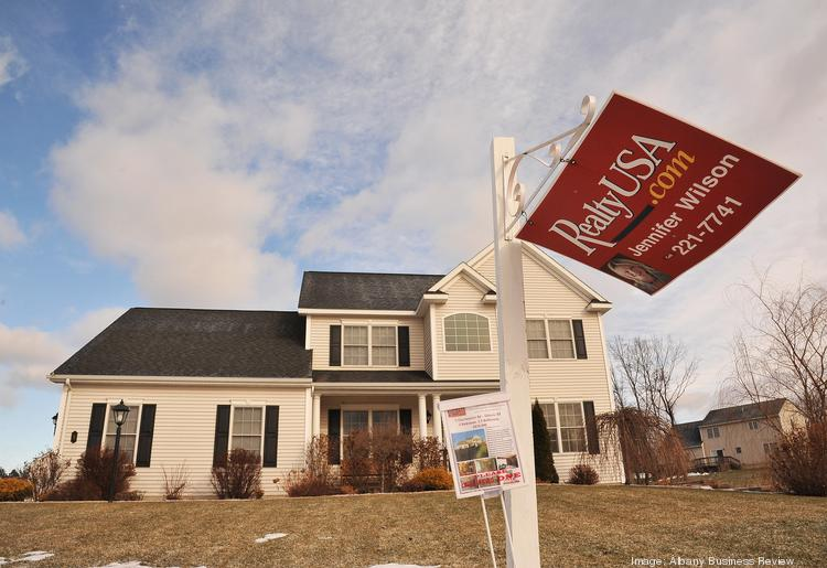 The harsh winter didn't put a chill on the housing market in the Albany, NY area, as signed purchase contracts increased 18 percent over the same period a year earlier.