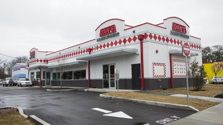 A rebuilt Dan's Hamburgers at 4308 Manchaca Road was delayed in opening by two months after the owner said she experienced difficulties with the city's building processes.