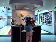 Fresh flowers are delivered to Ultimate Software's lobby.