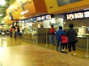 The food court at pan-ethnic Koreana Plaza opened five months ago. Koreana Plaza opened in 2003.