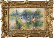 """""""On the Shore of the Seine"""" by Pierrre-August Renoir has returned to the Baltimore Museum of Art."""