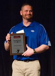 Scott Fieser, ARC Physical Therapy, at the Healthiest Employers Awards.