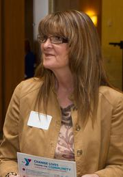 Cindy Kellick at the Healthiest Employers Awards.