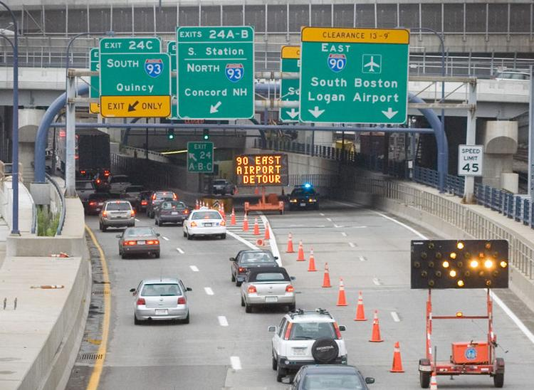 Boston congestion grew by an estimated 22 percent last year.
