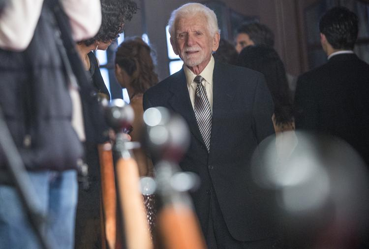 Martin Cooper took home the Maverick Innovator award at Cinequest 2014 for his invention of the cell phone.