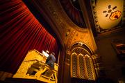 The classic pipe  organ played while guest took to their seats at Cinequest.