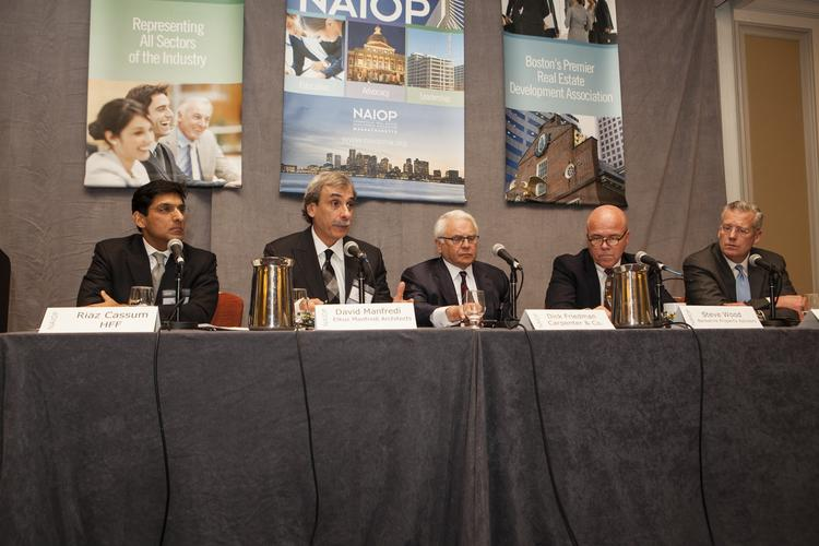 (From left to right) Riaz Cassum, David Manfredi, Richard Friedman, Steve Wood and Thomas O'Brien.