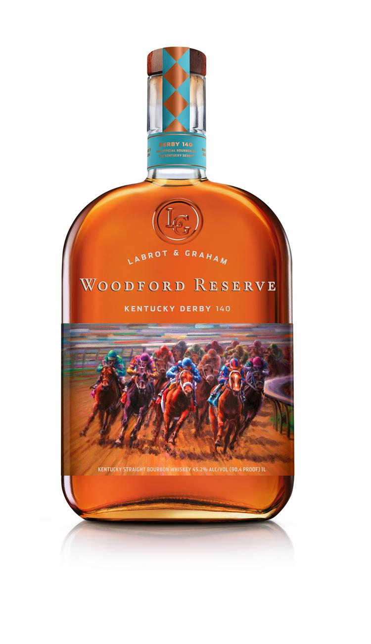 Versailles-based Woodford Reserve Distillery has unveiled a new commemorative Kentucky Derby bottle, featuring art by Louisville artist David O. Schuster.