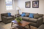 The new 16-bed shelter for women includes a dayroom for residents.