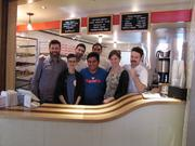 The crew at Federal Donuts' third year-round location, at 3428 Sansom St. in University City. It will open March 10.