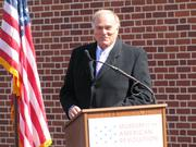 Former Gov. Ed Rendell was an early proponent of the Museum of the American Revolution and spoke Wednesday.