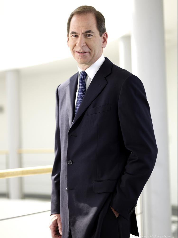 Zwirn is president and CEO of Siemens Energy Inc. and CEO of Siemens AG's Energy Service Division.