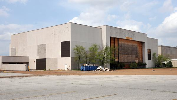 The former Dillard's space in Raleigh Springs Mall