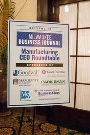 The roundtable was held at The Pfister hotel in downtown Milwaukee.