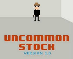 The cover for Eliot Peper's recently startup-themed novel Uncommon Stock.