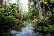 Oriental Gardens, once a Cypress Gardens attraction, is now part of Legoland Florida.
