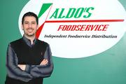 Sonny Napoleone, Aldo's Foods Inc., is a Diamond Award winner in the small for-profit category.