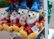 What good a stuffed bear dressed as a garden gnome can do for your plants I have no idea. But they probably sold out.