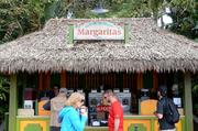 This margarita stand has nothing to do with the festival. But it's worth mentioning.