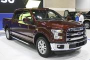 The F-150's new design includes high-strength steel and military-grade aluminum alloys, which helped the vehicle shed about 700 pounds and increase its miles per gallon.